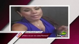 Suelta el wichi- ¿ Susan Elizabeth Castillo discute por ver a Joey Montana?