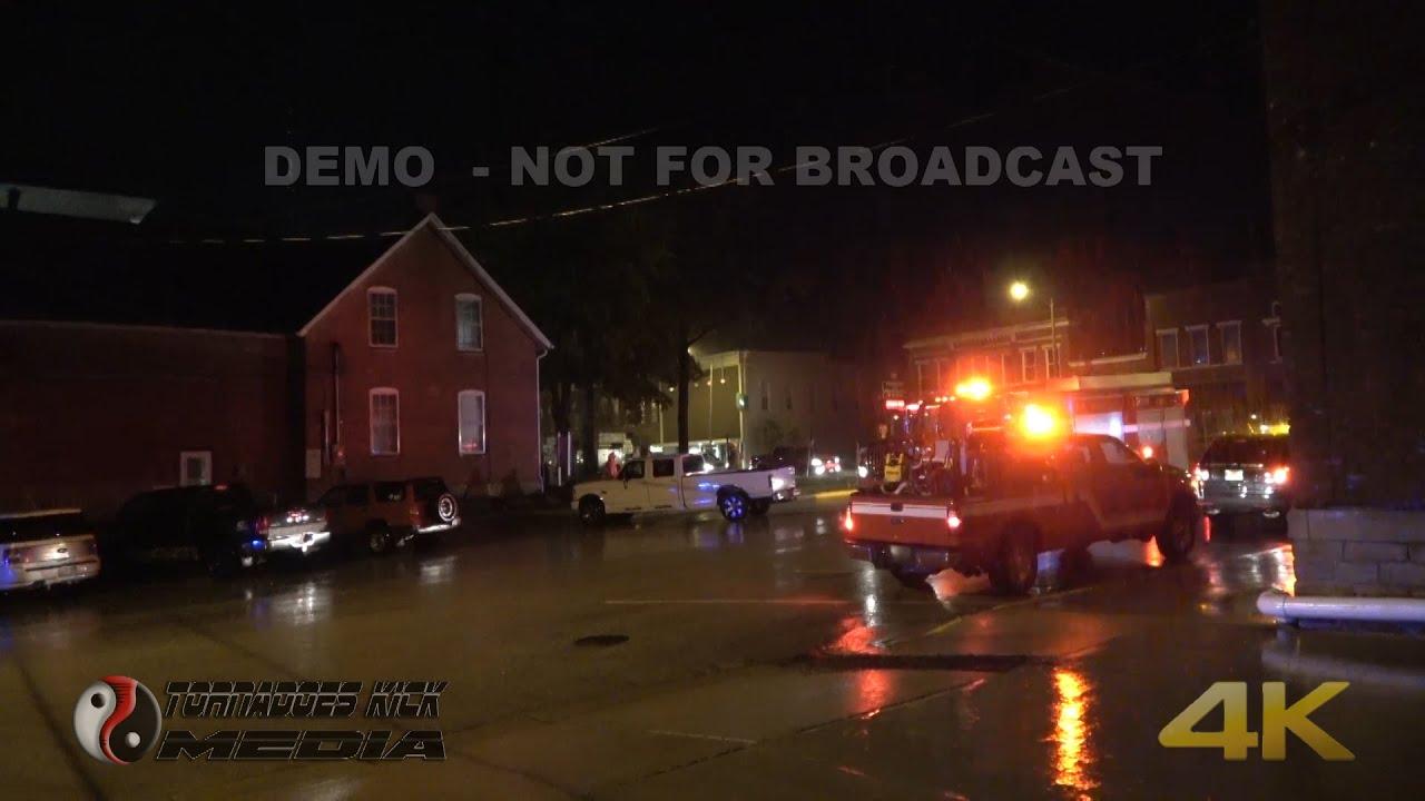 Illinois washington county addieville - 09 09 2016 Nashville Il Lightning Strikes Ambulance Esda Building