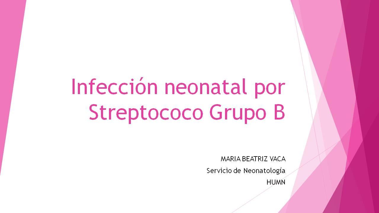 adultos con estreptococo del grupo b