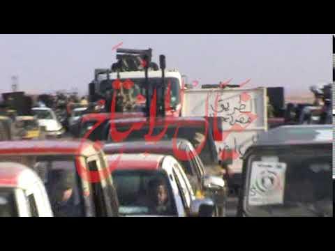 M2U02568 On The Way To Sirt, Frontline, 2011 War Libya