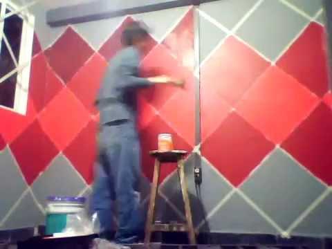 Pintando mi recamara sin miedo a los colores nuevos youtube - Como pinto mi habitacion ...