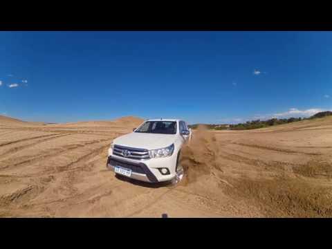 Travesía Toyota Hilux 360º - Pinamar