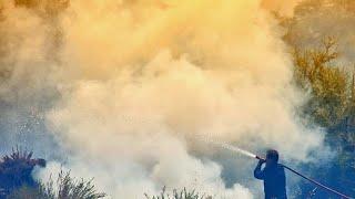 Μεγάλη πυρκαγιά στην Εύβοια - Έκλεισε η κυκλοφορία από και προς Βόρεια Εύβοια…