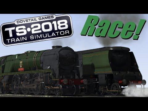 Train Simulator 2018 - Bodmin V.S. Wadebridge (Race!)