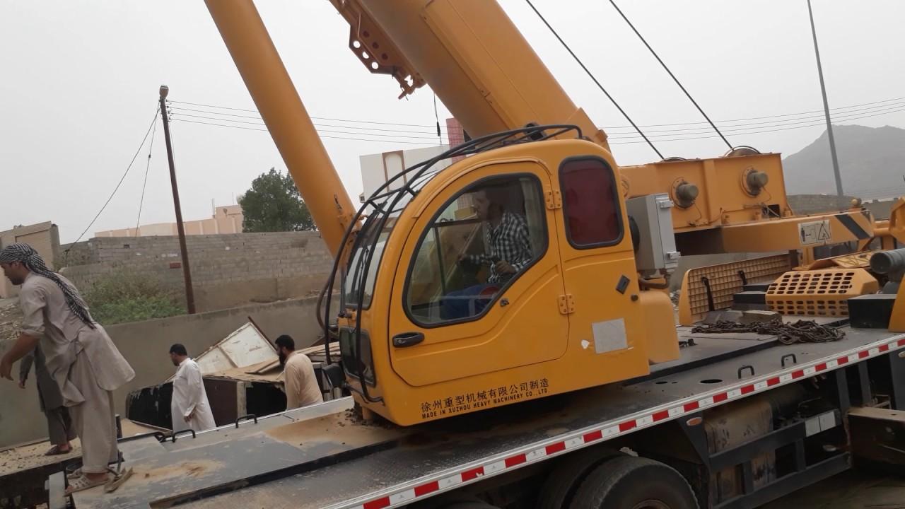 Majardah xcmg 50 ton crane wark mohsan maan