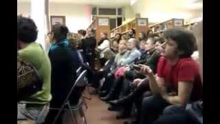 О КРАСОТЕ. Открытая (запрещённая) лекция А. Макаревича в библиотеке Маяковского 28.10.14