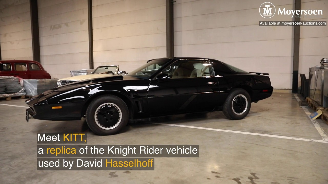 Knight Rider Car For Sale >> Knight Rider Replica Up For Auction