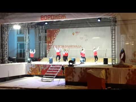 Infinity на концерте эстафеты олимпийского огня в Воронеже