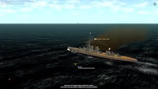 Jutland WW1 PC game - best naval sims - 3 first scenario: Battleship Duel