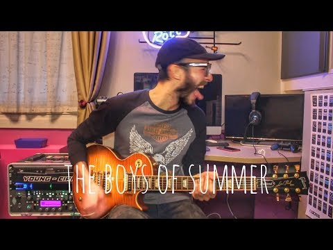 The Ataris - The Boys Of Summer (Guitar Cover)