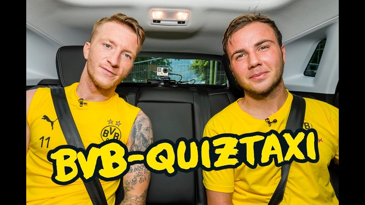 BVB-Quiztaxi in Bad Ragaz 2018 | Teil 1 mit Reus/Götze, Weigl/Wolf & Pulisic/Delaney