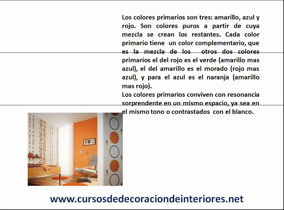 Estudiar dise o de interiores el color en la decoracion for Decoracion de interiores estudiar