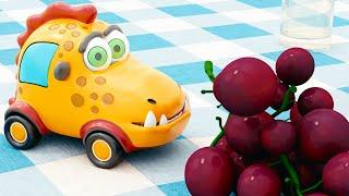 Машинки Мокас 🚕 Пикник 🚙 Развивающие мультики для детей и малышей 🚗