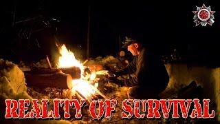 Reality Of Survival: Below Freezing, No Shelter No, Sleeping Bag