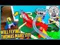 CAN THOMAS MAKE THIS MEGA JUMP?! Thomas and Friends Fun Toy Trains for Kids with TRACKMASTER