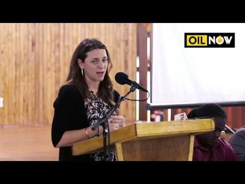 ExxonMobil's business development centre in Guyana