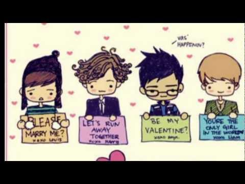 cartoon one direction - One Direction video - Fanpop