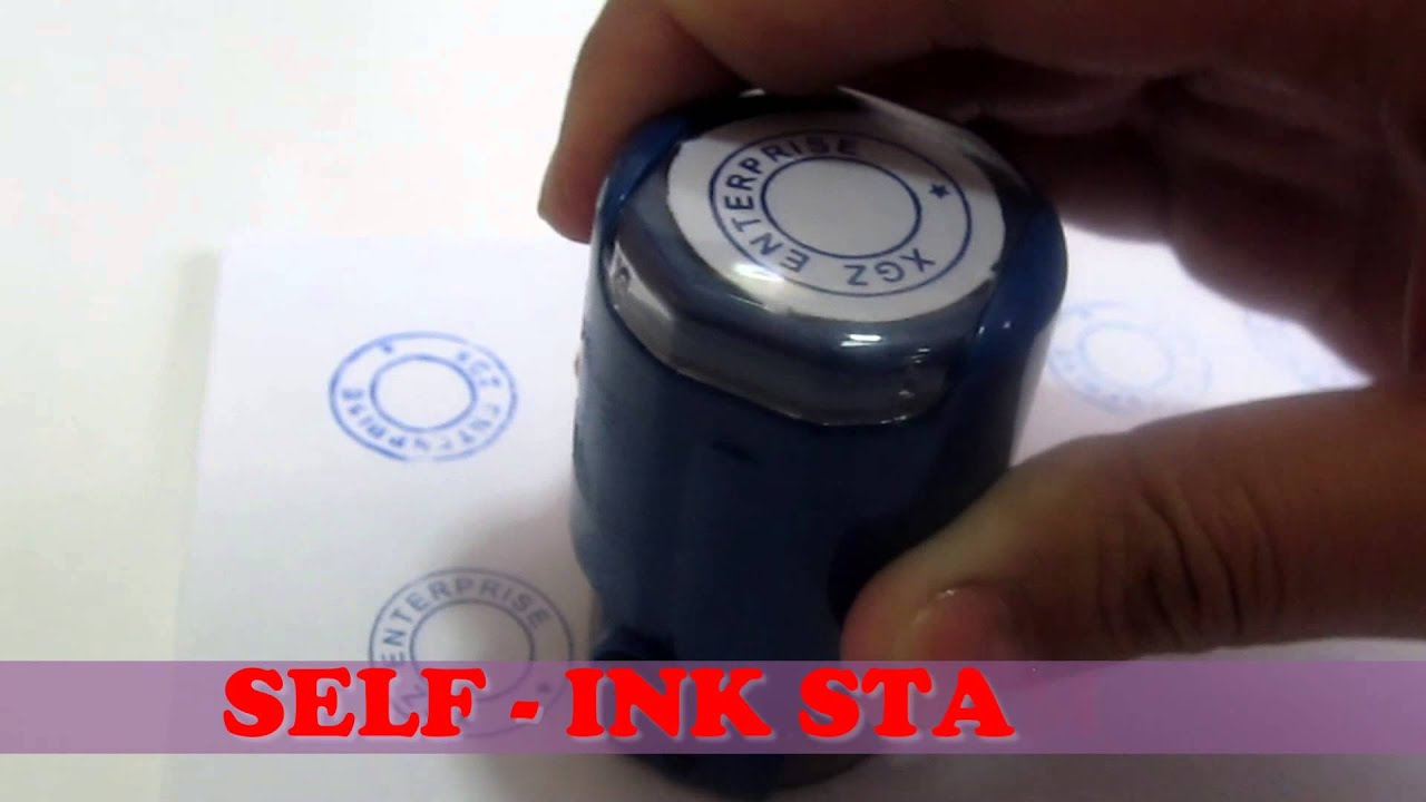 pre ink stamp best quality youtube