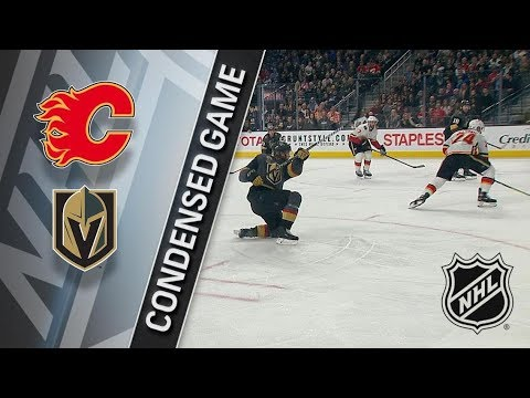 Calgary Flames vs Vegas Golden Knights – Mar. 18, 2018 | Game Highlights | NHL 2017/18. Обзор