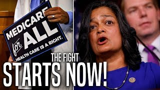 Pramila Jayapal to Push a House Vote on 'Medicare For All' in 2019