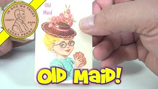 Old Maid Classic Playing Cards Game