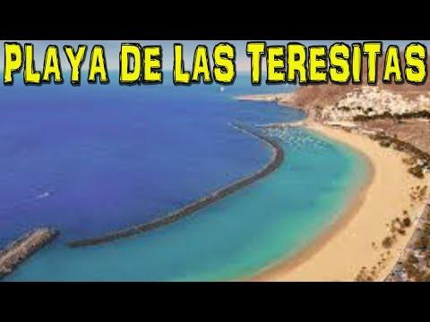 PLAYA DE LAS TERESITAS - Tenerife 4K