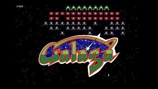 Galaga Arcade Gameplay GTX 1080 60fps
