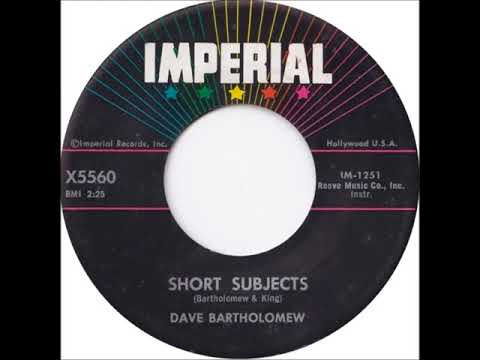 Fats Domino - (Dave Bartholomew session) - Short Subjects (instr.) - February 20, 1957