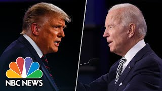 Watch Top Moments From The First Presidential Debate | NBC News