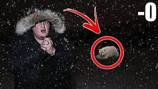 (I FROZE ALIVE) HOW LONG CAN YOU LAST IN SUB-ZERO TEMPERATURE!!