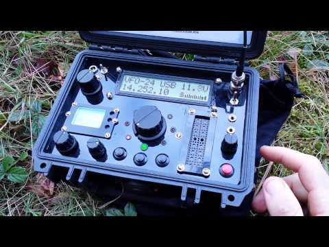 Cross Mode QRP from the sticks of NH to Slovenia