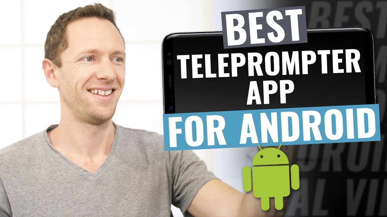 Best Teleprompter App For Android Youtube
