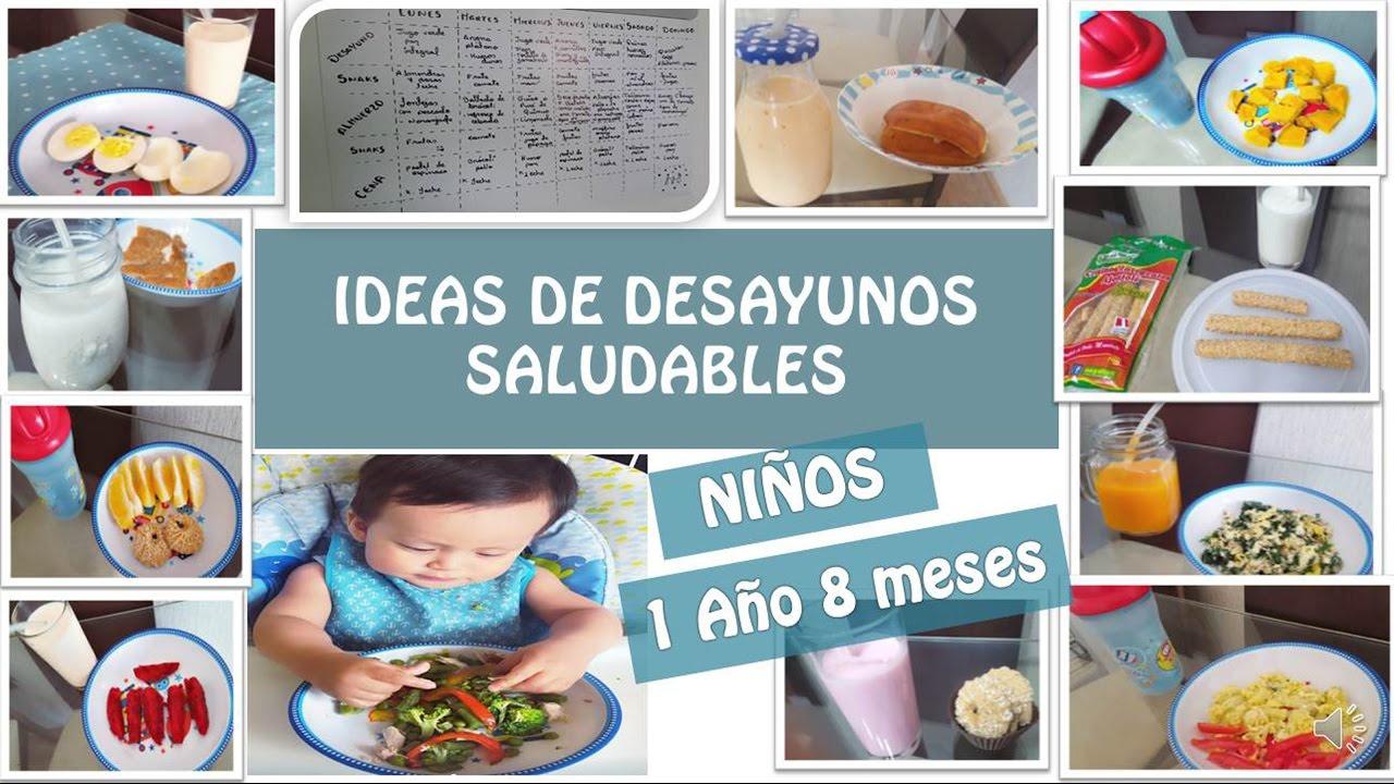10 ideas de desayunos saludables para ni os de 1 a o y 8meses que come mi hijo youtube - Cuantas comidas hace un bebe de 8 meses ...