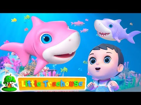 Baby Shark Song + More Nursery Rhymes & Baby Songs | Kids Cartoon | Little Treehouse