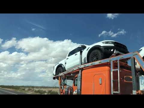 2019 Ford Ranger Raptor spied