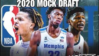 2020 NBA Mock Draft lottery edition: picks 1-14