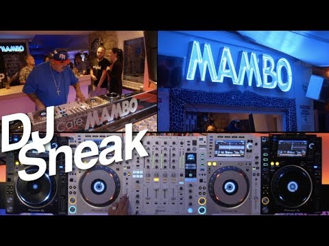 DJ Sneak - DJsounds Show 2017 From Café Mambo, Ibiza
