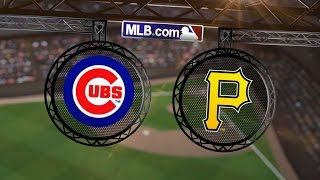 9/14/14: Triple play sparks Pirates in win vs. Cubs