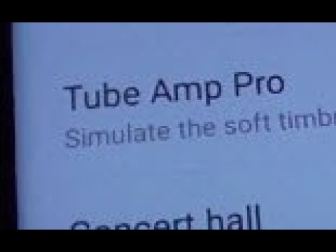 Samsung Galaxy S8: How to Enable / Disable Tube Amp Pro (Sound Quality)