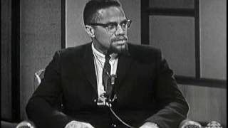Malcolm X on Front Page Challenge, 1965: CBC Archives