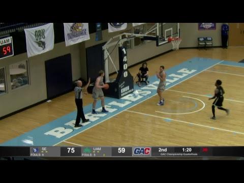 2019 GAC Basketball Championship  :  Quarterfinals  :  Southeastern Oklahoma Vs Arkansas -Monticello