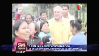TUESTA 2016 24 Horas El comportamiento de las encuestas en las elecciones presidenciales