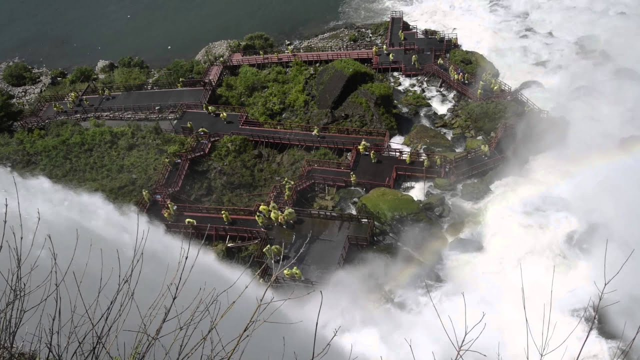 Luna Island Niagara Falls USA ...
