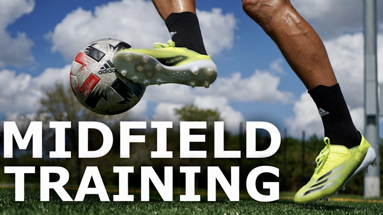 Download 5 Training Drills For MIDFIELDERS   Five Simple Midfielder Exercises