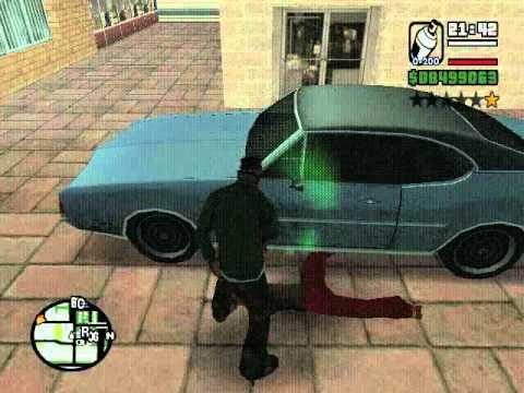 Como pintar un carro en GTA SAN ANDREAScon un bote de spray  no