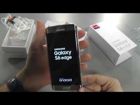 Samsung Galaxy S6 Edge - Kutu açılış videosu (Unboxing)