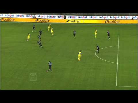 Il gol di Meggiorini - Chievo Verona - Lazio 4-0 - Giornata 2