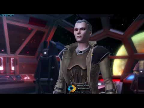 Star Wars The Old Republic - Sith Inquisitor - Imperial Fleet Command Introduction