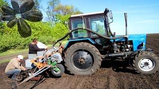 Посев, боронование: Подсолнуха и Кукурузы Застучал ЮМЗ! #СельхозТехника ТВ №15
