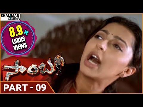 Samba  Telugu  Movie Part  -09/13 || NTR , Bhoomika Chawla , Genelia Dsouza ||shalimarcinema